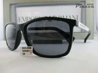 Occhiali da sole Emporio Armani EA4058 506381 polarizzato